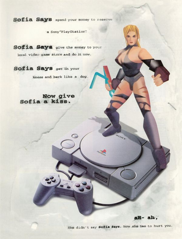 Video Game Ads From The 90's