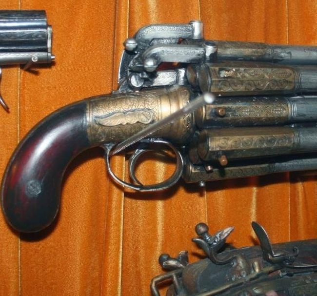Strange Flintlock Guns With A Touch Of Overkill