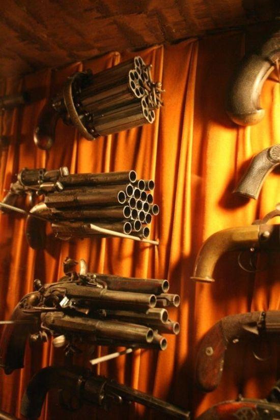 Strange Flintlock Guns With A Touch Of Overkill