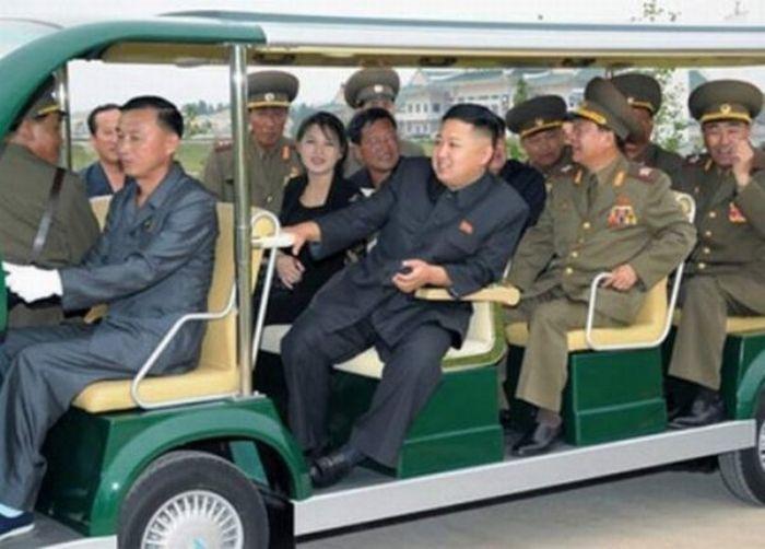 Kim Jong-Un Can't Stop Looking At Food