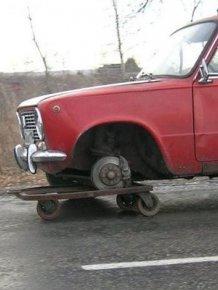 Awkward Car Repairs