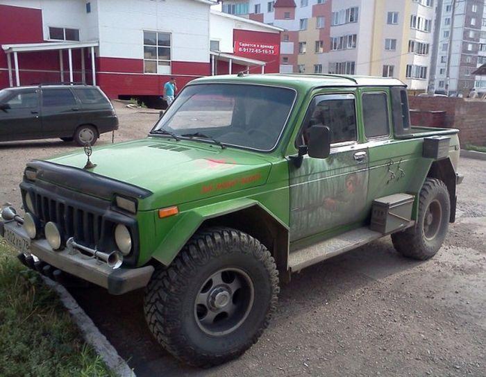 Russian SUV Car Tuning. Niva Edition