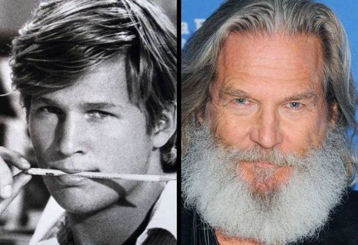 Male Actors Then And Now