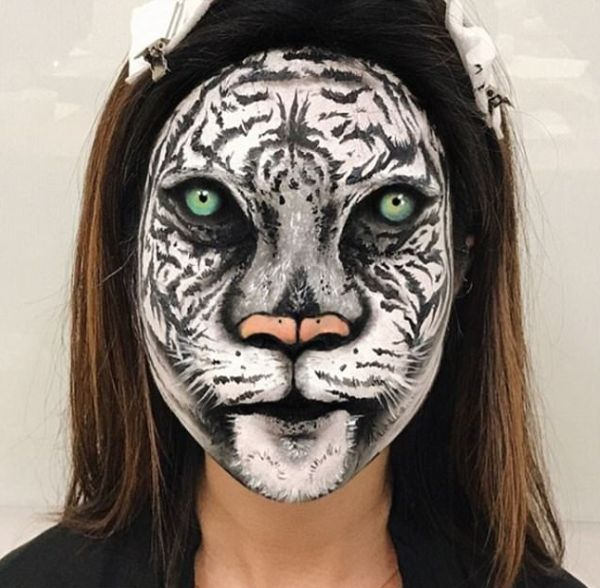 Makeup Artist Makes Scary Optical Illusions Without Using Photoshop