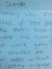 Awkward Notes From Teachers
