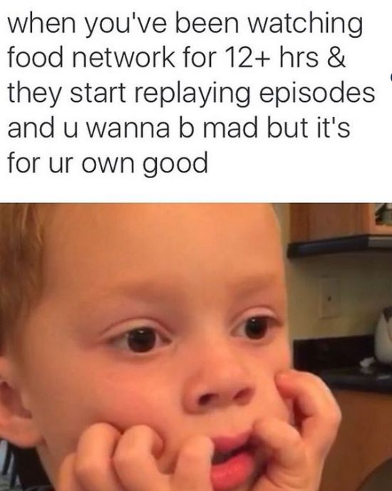 Memes for People Who Love the Food Network