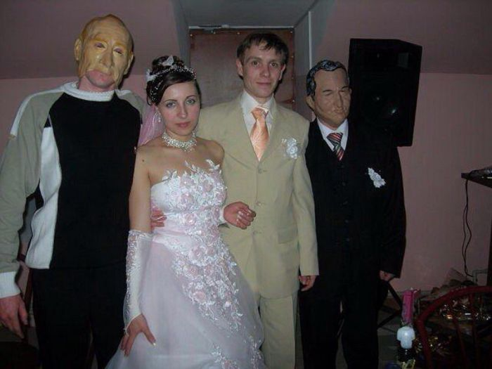 Crazy Russian Wedding Photos Fun