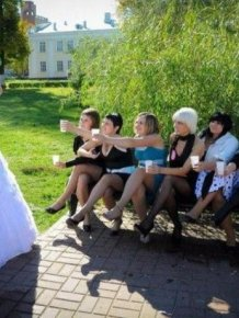 Crazy Russian Wedding Photos