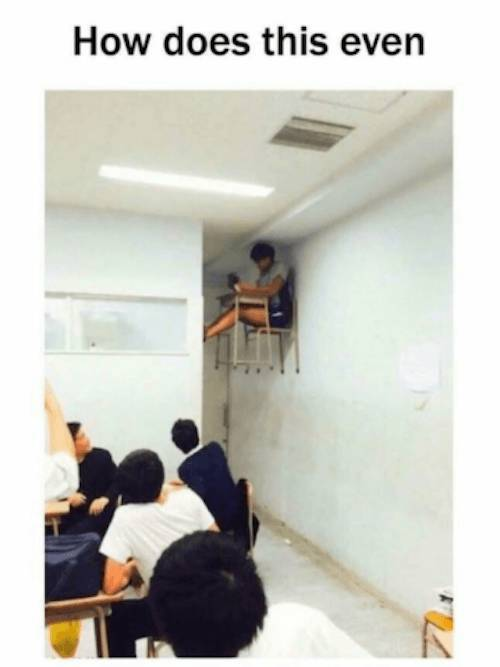 Strange Things In Classrooms