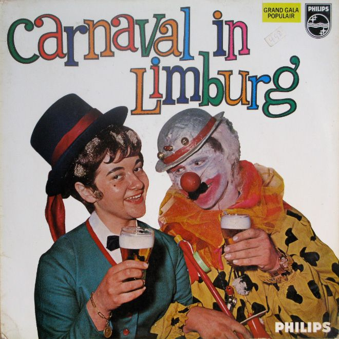 Vintage Album Covers With Clowns