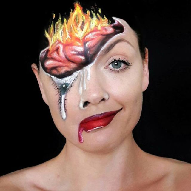 Makeup Artist Turns Herself Into Monsters From Your Most Terrifying Nightmares