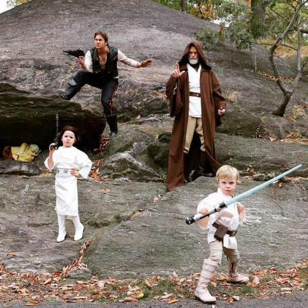 Halloween Costumes Of Neil Patrick Harris And His Family