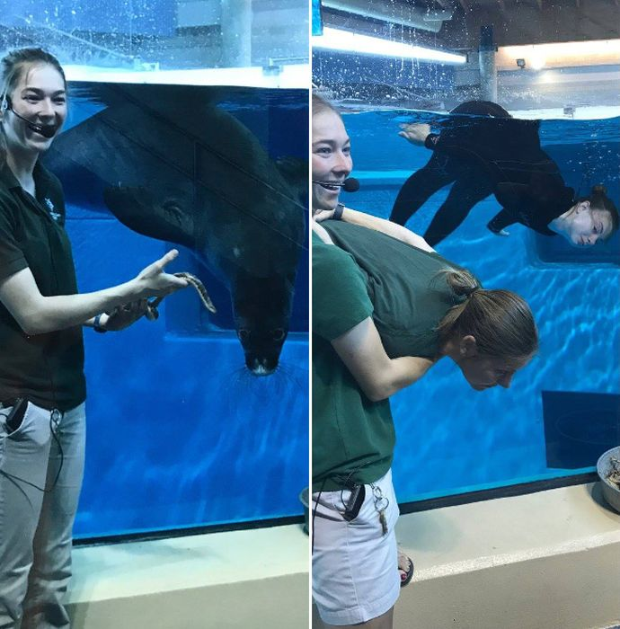 Zookeepers Have Fun