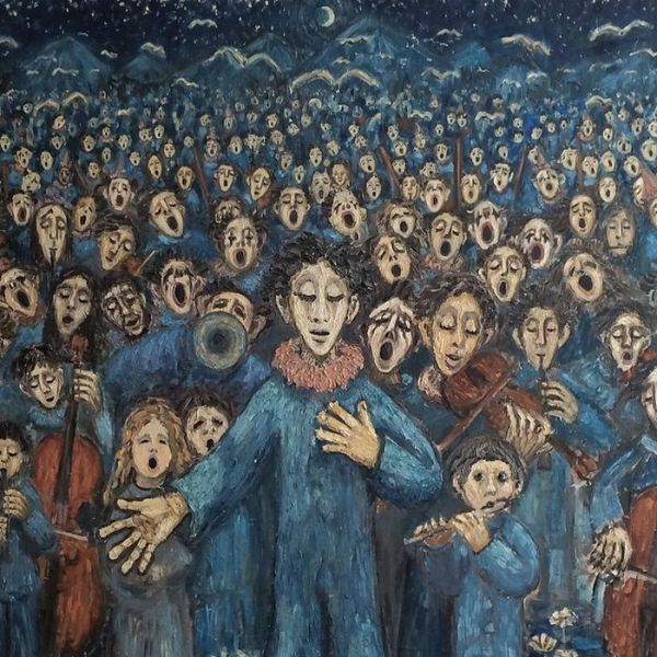 Paintings Dome By People With Schizophrenia