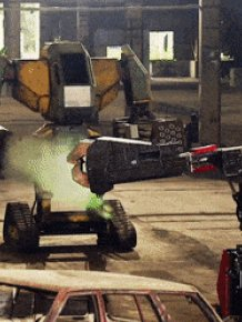 The First Battle Of Fighting Humanoid Robots