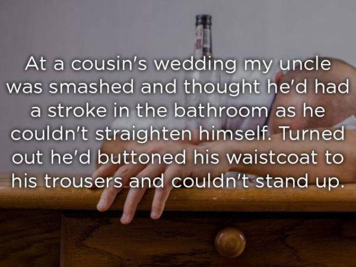 Insane Stuff At Weddings