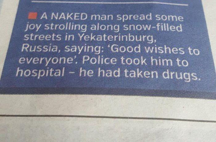 Incredible Newspaper Headlines