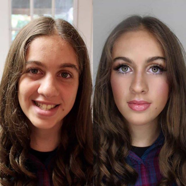 With And Without Makeup, part 3