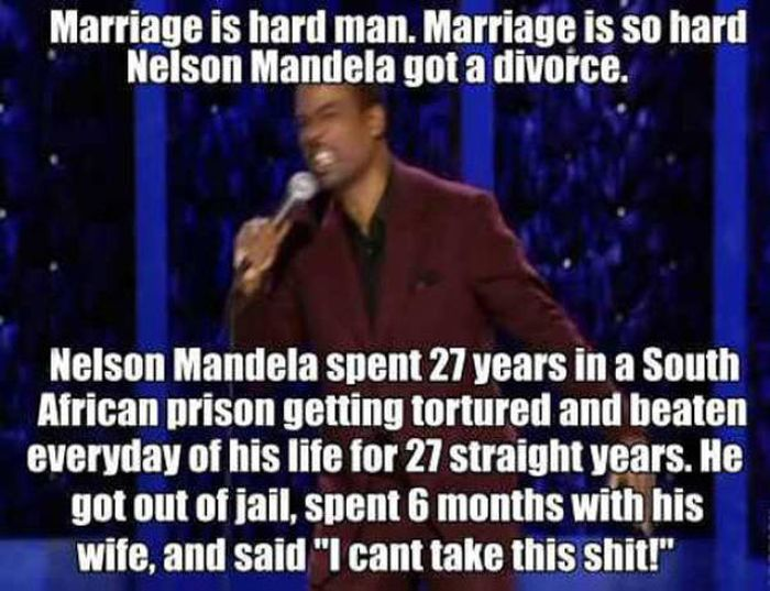 Marriage? What's That?