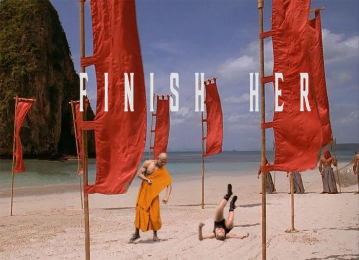 Shaolin Monk Got Photoshopped