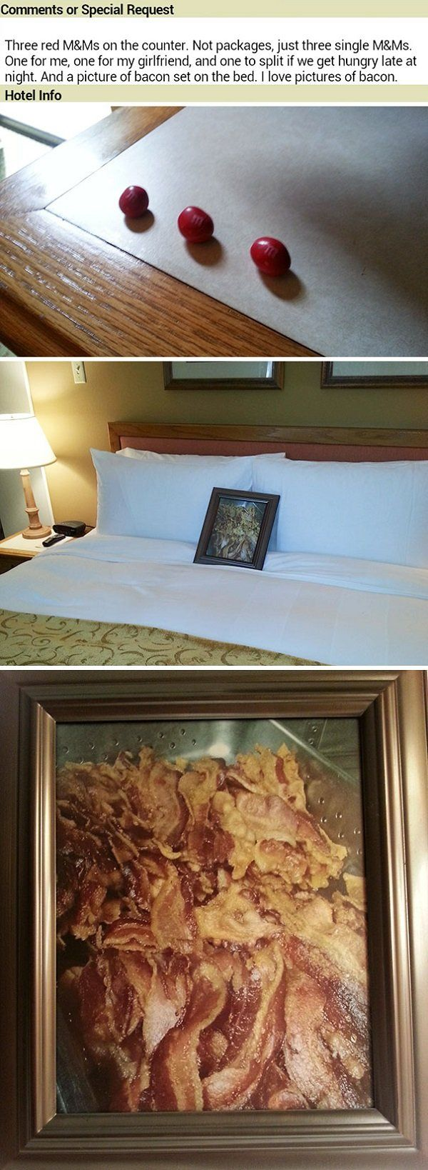 Hotels That Take Their Requests Seriously
