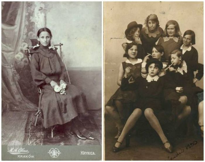 Young People 100 Years Ago