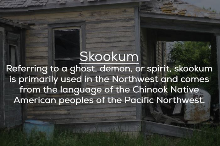 Local Names For Ghosts