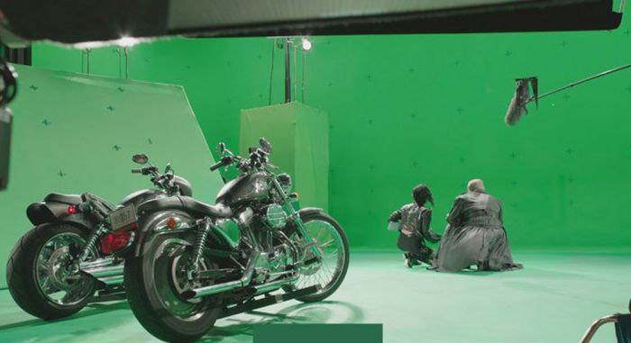 Sin City Green Screen