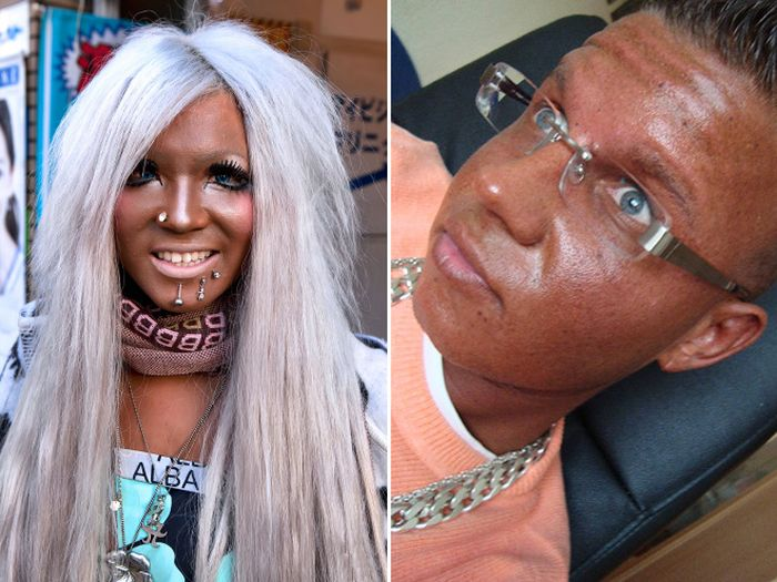 Examples Of Bad Fake Tan