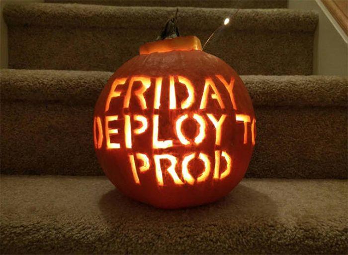 Scary Reality Pumpkins