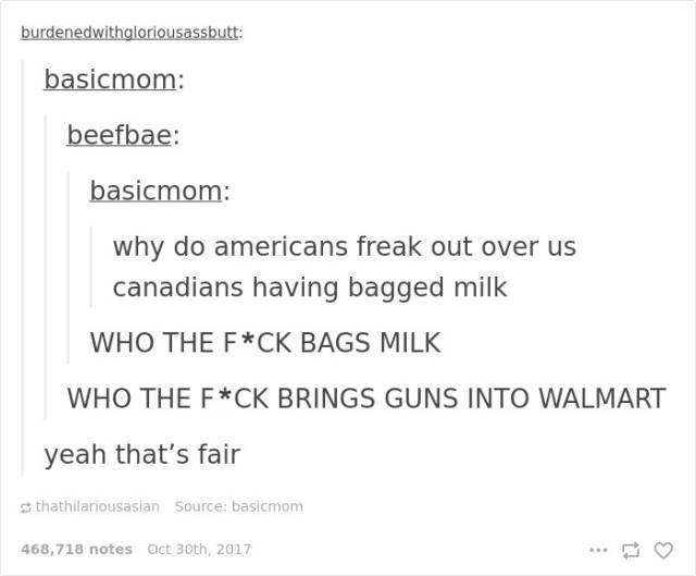 Canada Never Gets Enough Of Roasting USA