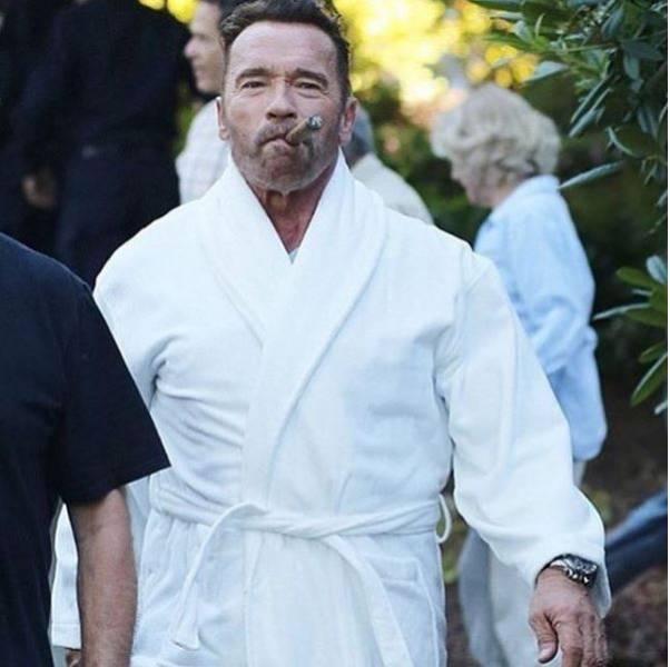 Instagram Photos Of Arnold Schwarzenegger