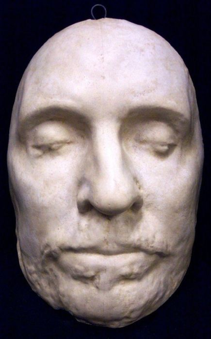 Deaths Masks Of Historical Figures