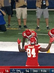 The Best Touchdown Celebrations Of This NFL Season