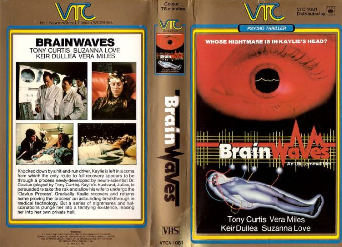 VHS Covers Of Horror Movies