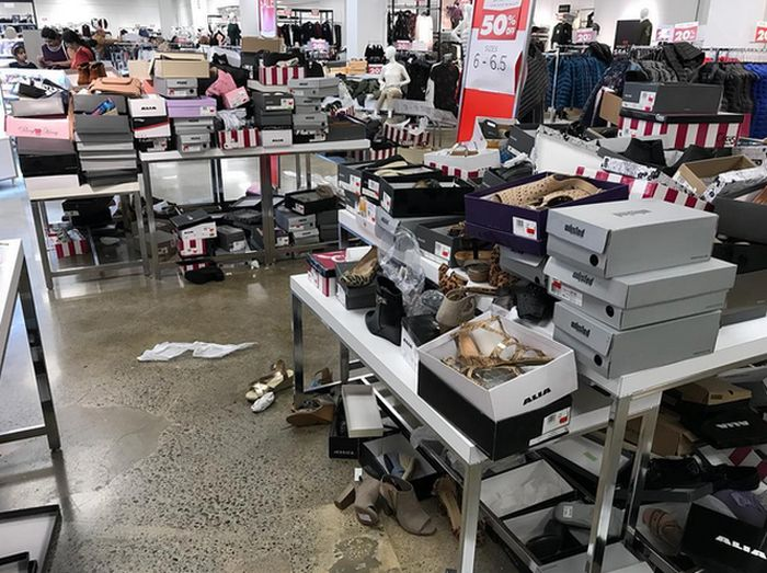"Canadians Staged A ""Last Sale"""