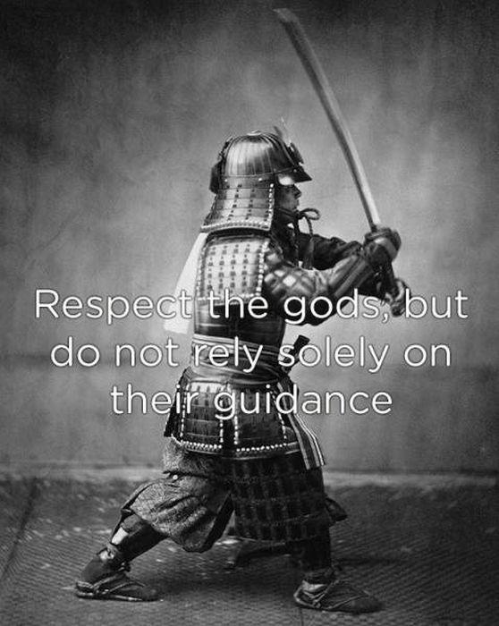 Samurai Knew How One Has To Live A Life
