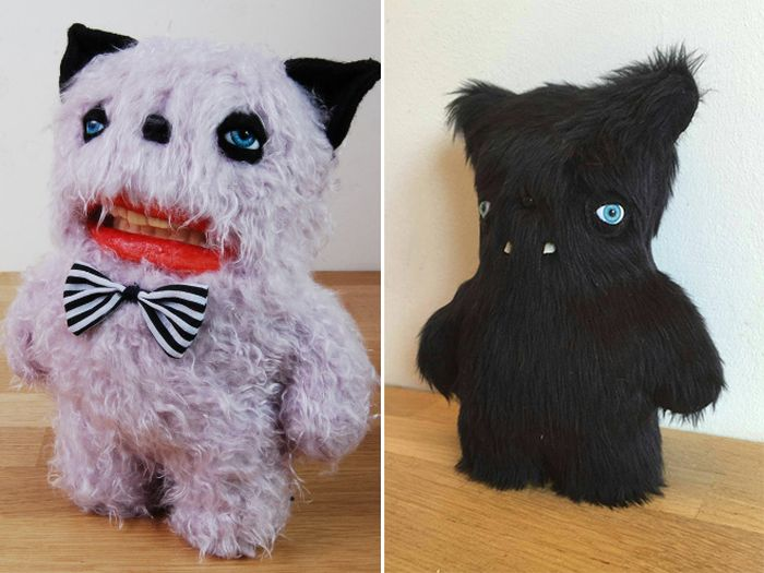 Funny and Cute Plush Toys by Anna Sternik