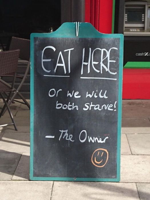 Brilliant Bar and Cafe Chalkboard Signs