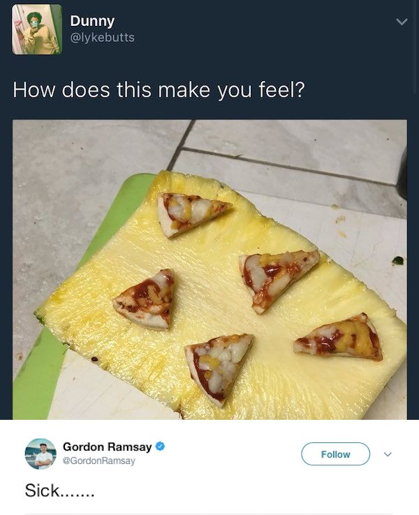 Gordon Ramsay's Twitter