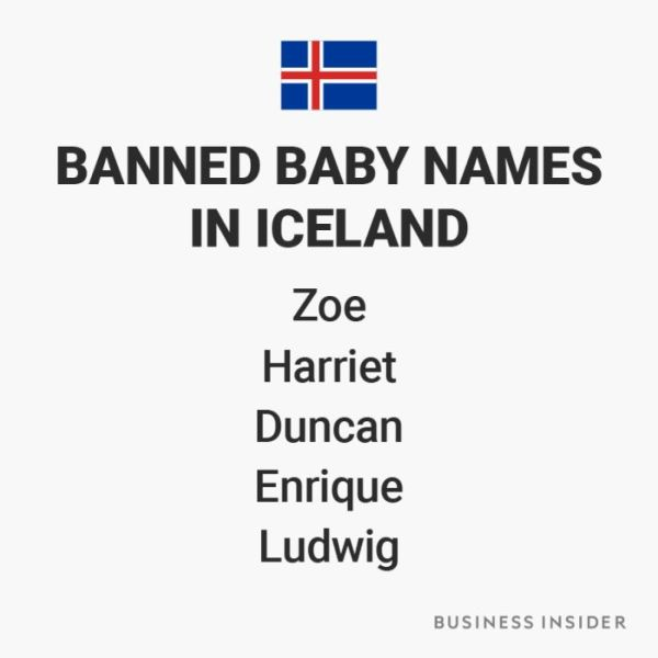 Banned Baby Names From Around The World