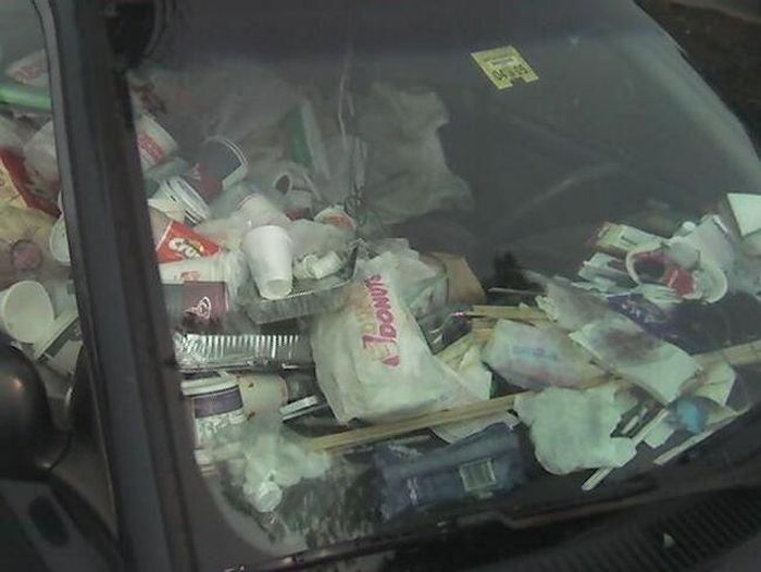 Cars Full Of Trash