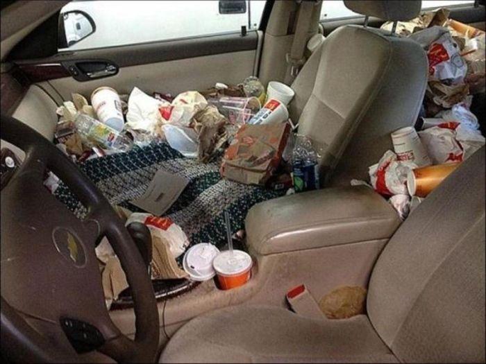 Cars Full Of Trash Vehicles