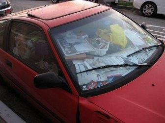 Cars Full Of Trash