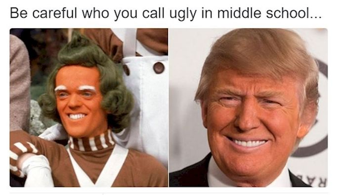 Be Careful Who You Call Ugly in Middle School