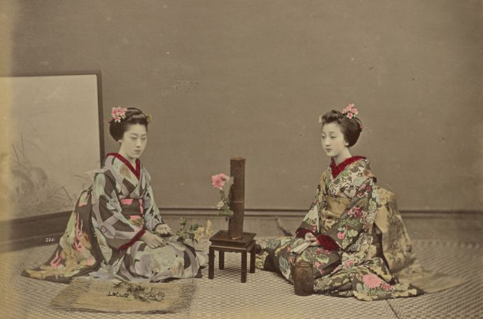 Color Photographs Of Japan Of The XIX Century