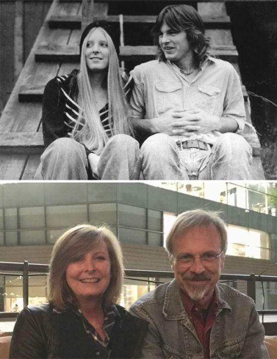 Amazing Then & Now Couple Photos