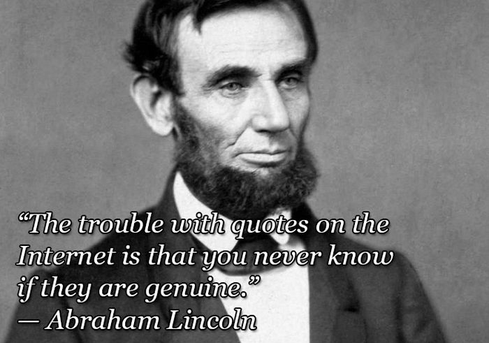 Less Known Quotes by Famous People