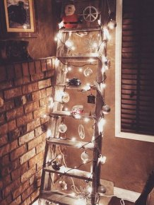 Ladder Christmas Trees