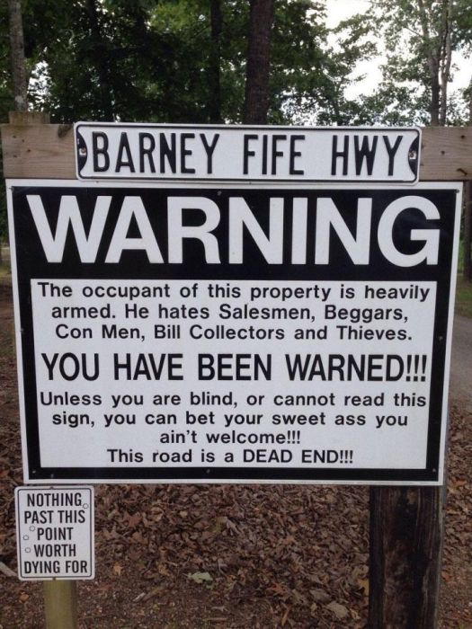 funny warning signs part 2 fun